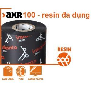Mực in mã vạch AXR 100 đa chức năng