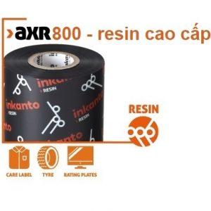 Mực in mã vạch resin AXR 800