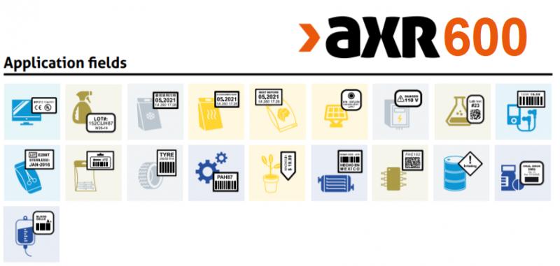 Các ngành sử dụng AXR 600